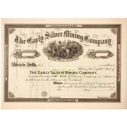 Early Silver Mining Company Stock