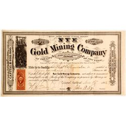 Nye Gold Mining Co Stock