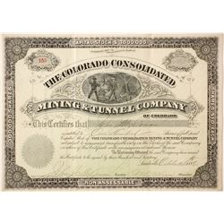 Colorado Consolidated Mining & Tunnel Company Stock