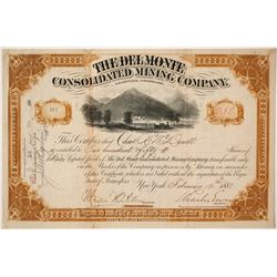 Del Monte Consolidated Mining Company Stock