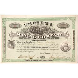 Empress Mining Company of Colorado Stock