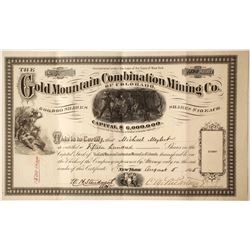 Gold Mountain Combination Mining Company of Colorado Stock