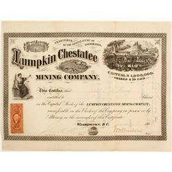 Lumpkin Chestatee Mining Company Stock