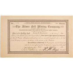 Silver Bell Mining Company of Garrett County Stock