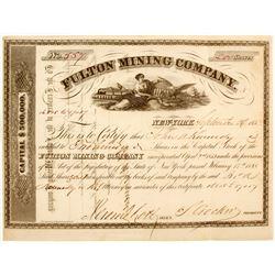 Fulton Mining Company Stock