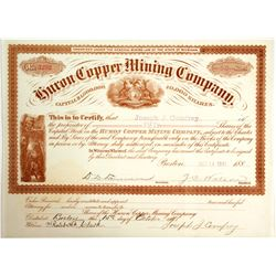 Huron Copper Mining Stock