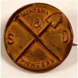 Montana & S. Dakota Pioneers Pin