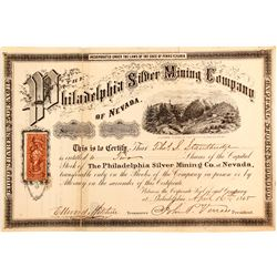 Philadelphia Silver Mining Company of Nevada Stock