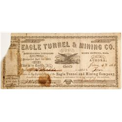 Eagle Tunnel & Mining Company Stock - Aurora Dateline