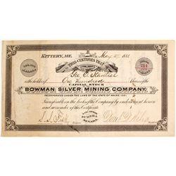 Bowman Silver Mining Co
