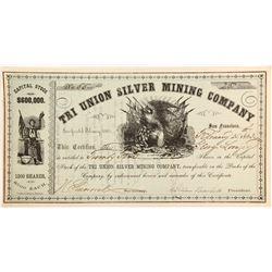 Tri Union Silver Mining Company Stock