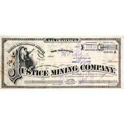 Justice Mining Co. Stock