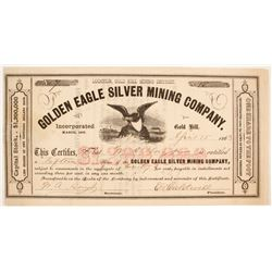Golden Eagle Silver Mining Company Stock