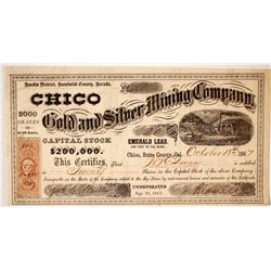 Chico Gold & Silver Mining Stock - NUMBER 1
