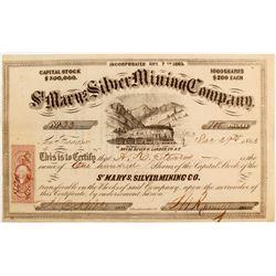 St. Mary's Silver Mining Company Stock