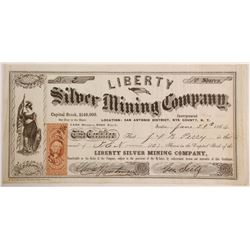 Liberty Silver Mining Company Stock - Number 2