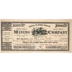 Minnehaha and Stevedore Consolidated Mining Company Stock