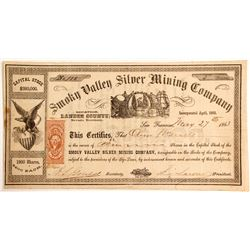 Smoky Valley Silver Mining Company Stock