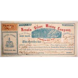 Nevada Silver Mining Company Stock