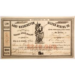 Lady Washington Silver Mining Company Stock