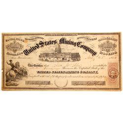 United States Mining Company Stock