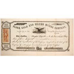 Flora Gold and Silver Mining Company Stock