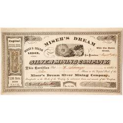 Miser's Dream Silver Mining Company