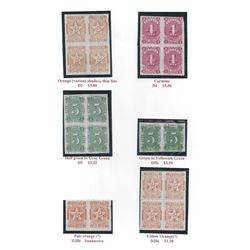 Nice Collection of Nevada State Revenue Stamps