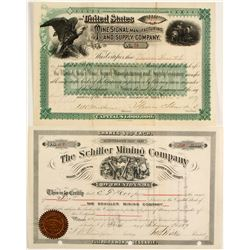 Two New Jersey Incorporated Mining Stocks