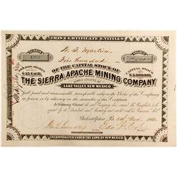Sierra Apache Mining Company