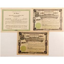 Three mining certificates - New Mexico