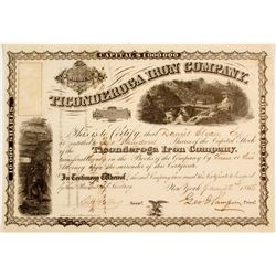 Ticonderoga Iron Company Stock
