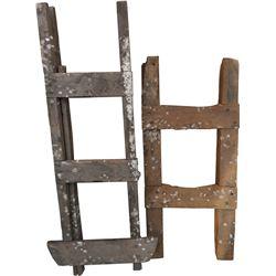 Underground Mine Short Ladders - lot of 2