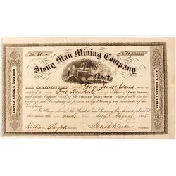 Very Rare Stony Man Mining Company Stock