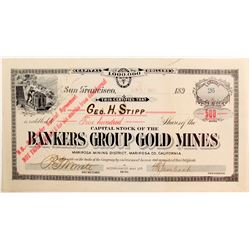 Bankers Group Gold Mines stock