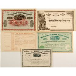 Early Unissued Stocks - All Striking!