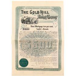 Gold Hill Mining Company Gold Bond