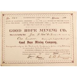 Good Hope Mining Co stock