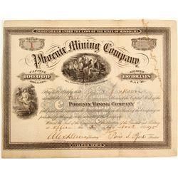 Phoenix Mining Company Stock - NUMBER 1
