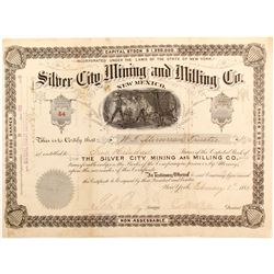 Silver City Mining and Milling Co. stock
