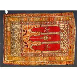 Turkish Kula Prayer Rug