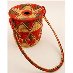 Basket, (weaved) Pacific Northwest