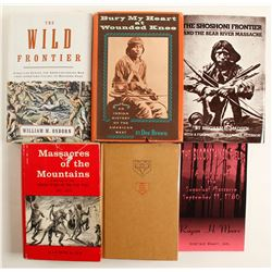 Native American Massacre Books (6)