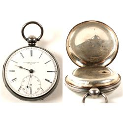 Edward Rouse Augusta Pocket Watch