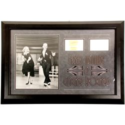 Fred Astaire & Ginger Rogers Autographed Pieces