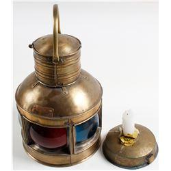 Brass Nautical Lamp