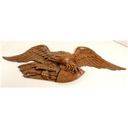 Bald Eagle Bronze Wall Relief