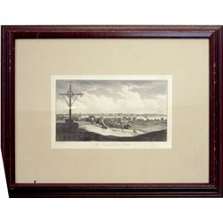 Engraving of Three Rivers, Ontario