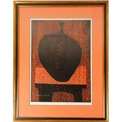 """Bizen"" Woodblock Print"