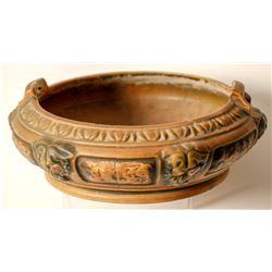 Florentine Roseville bowl.